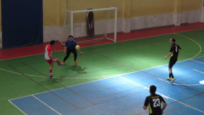 هفته دوم مسابقات فوتسال قهرمانی کارگران استان یزد جام فجر ۳۸