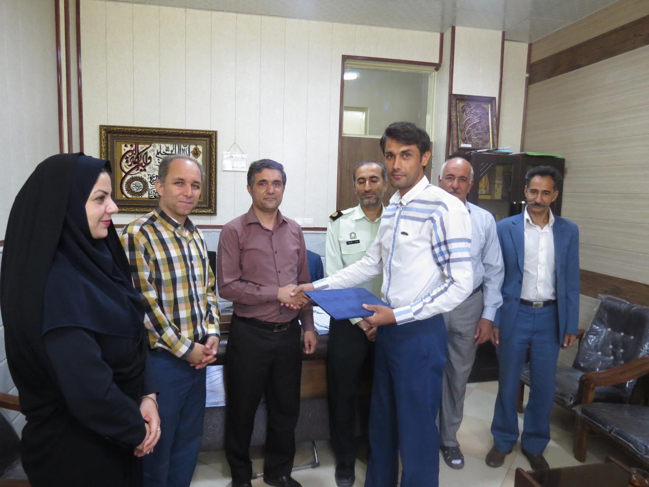 آقای علی محمد زمانیان به سمت دبیر هیئت ورزش کارگری منصوب شد.