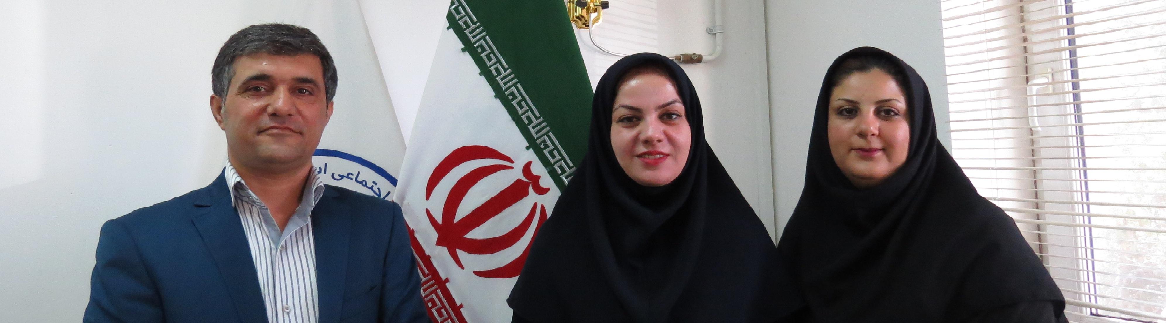 انتصاب خانم طیبه طهرانی به عنوان مدیریت استخر مهتاب