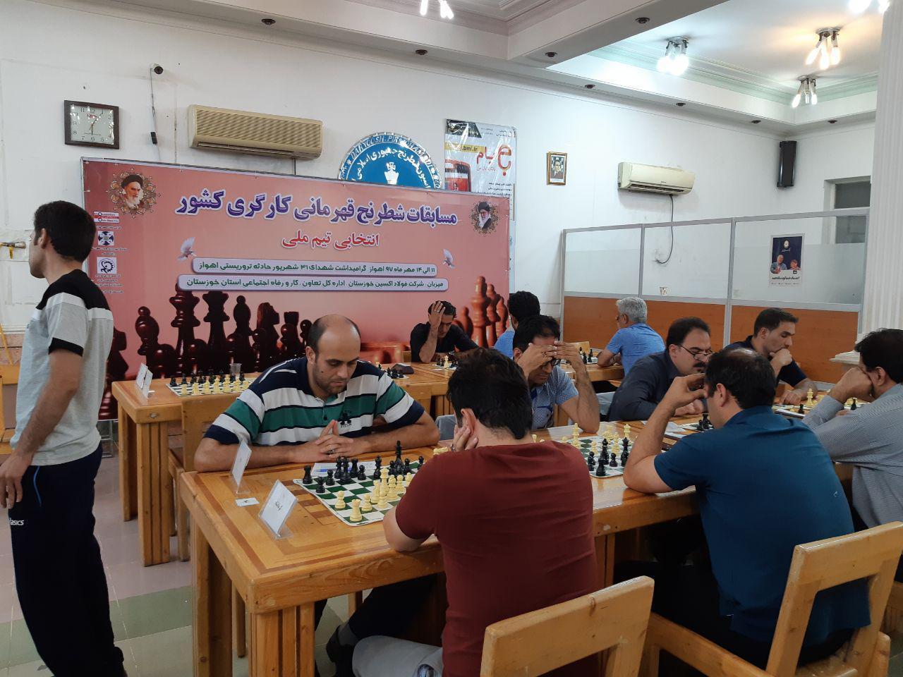 تیم شطرنج کارگران استان به مسابقات قهرمانی کارگران کشور به میزبانی خوزستان اعزام شد.
