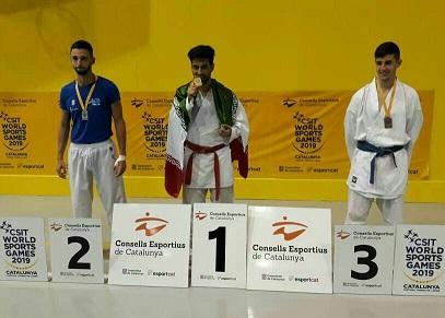 کسب مدال طلای جهان توسط ورزشکار کارگر یزدی