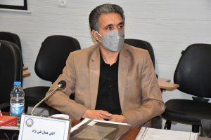 جمال تقی نژاد رئیس هیئت ورزش کارگری استان باقی ماند